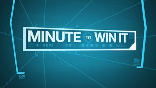 """MINUTE TO WIN IT -- Pictured: """"Minute to Win It"""" Logo -- NBC Photo"""