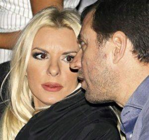 Η Ανίτα Πάνια και ο Νίκος Σαμοϊλης