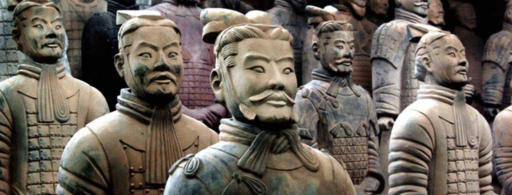 το συγκρότημα του τάφου του Πρώτου Αυτοκράτορα της Κίνας