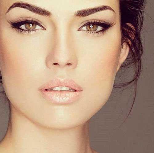 Μακιγιάζ για μελαχρινές - φωτογραφίες
