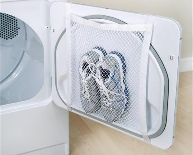 Ένα δίχτυ για να στεγνώνετε τα παπούτσια σας