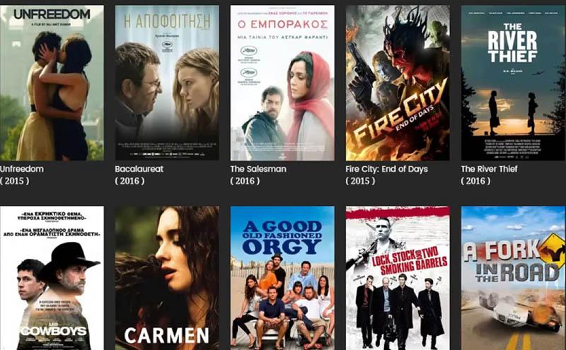 Δείτε δωρεάν ξένες ταινίες με ελληνικούς υπότιτλους online